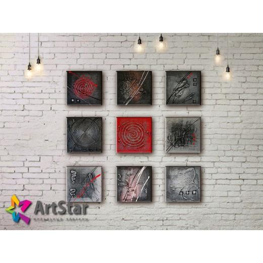 Модульные Картины, рисованные, маслом, Art. MHM17_5_102