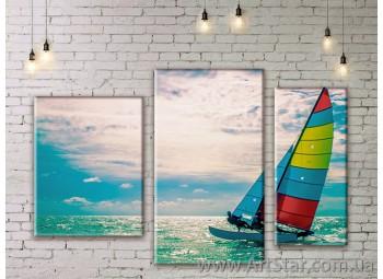 Модульная картина, Море 2 - SALE