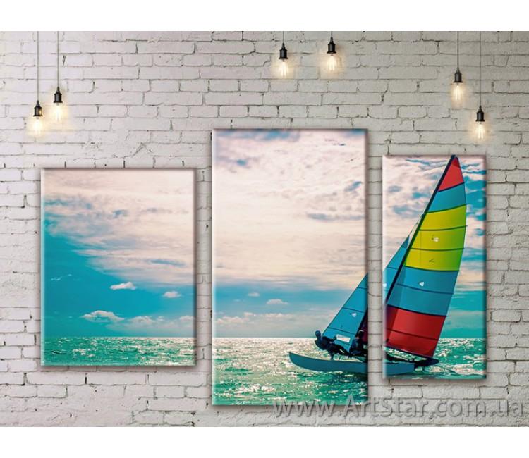 Модульная картина, Море, купить, пейзаж