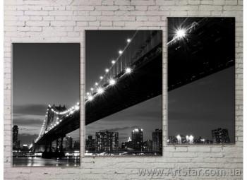 Модульная картина, Города 4 - SALE