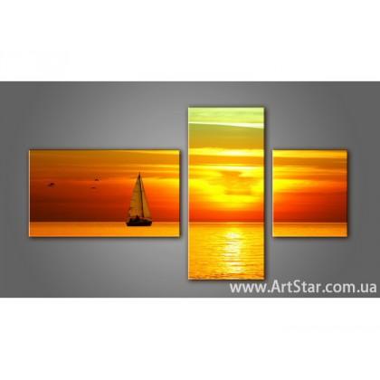 Модульная картина, Море 4 - SALE