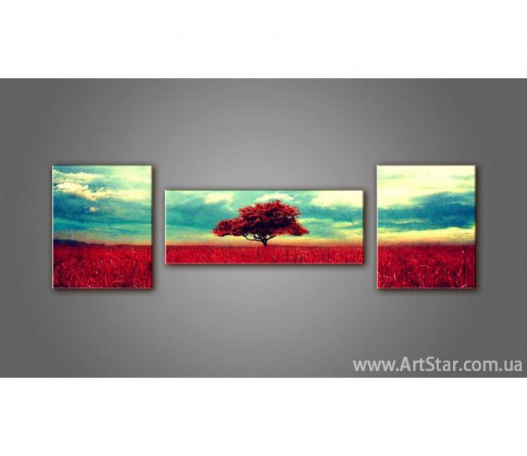 Модульная картина, природа, купить, пейзаж