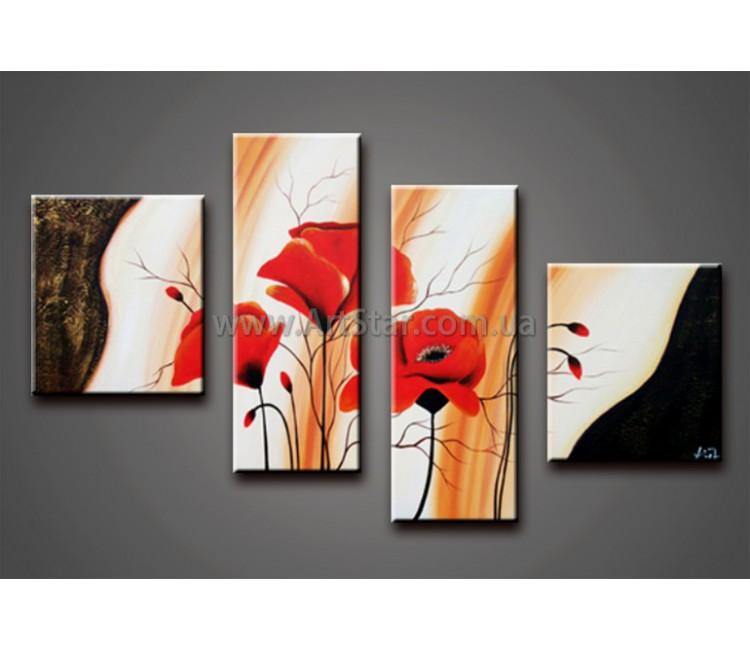 Модульные Картины Маслом, Art. HM778022