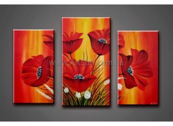 Модульные Картины Маслом, Art. HM778025