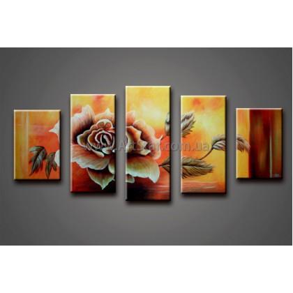 Модульные Картины Маслом, Art. HM778046