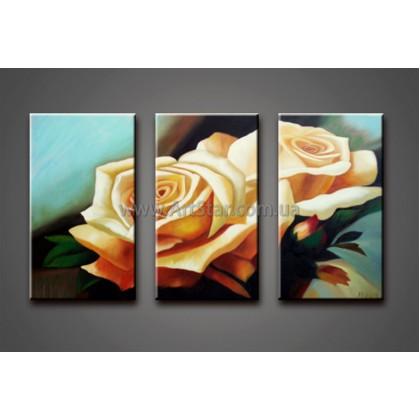 Модульные Картины Маслом, Art. HM778052
