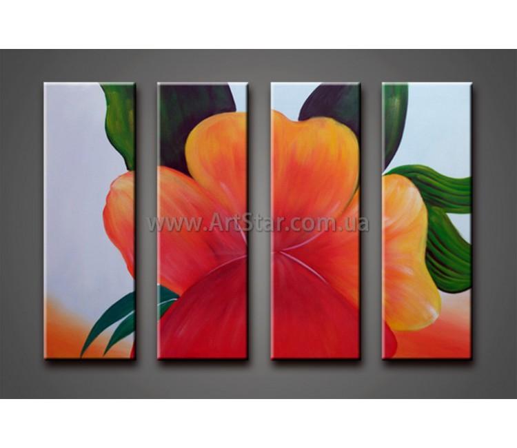 Модульные Картины Маслом, Art. HM778073