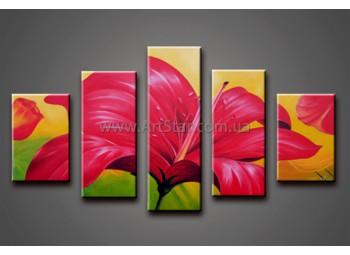 Модульные Картины Маслом, Art. HM778082