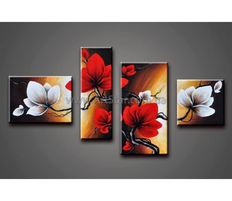 Модульные Картины Маслом, Art. HM778085