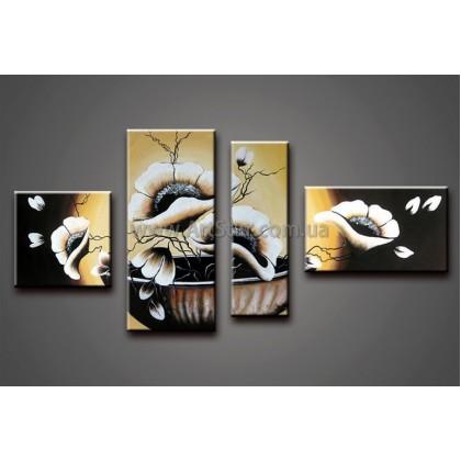 Модульные Картины Маслом, Art. HM778142
