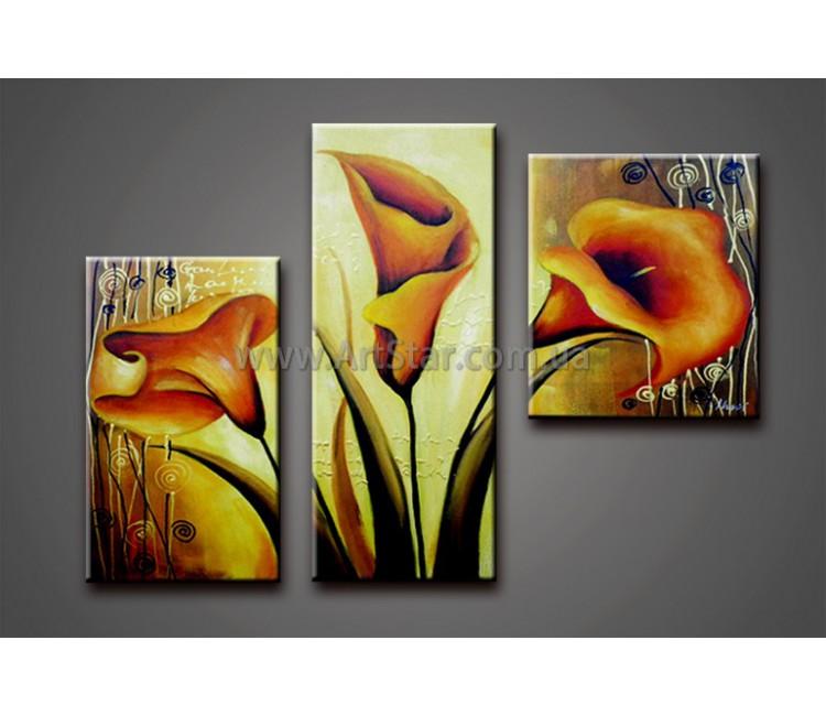 Модульные Картины Маслом, Art. HM778148