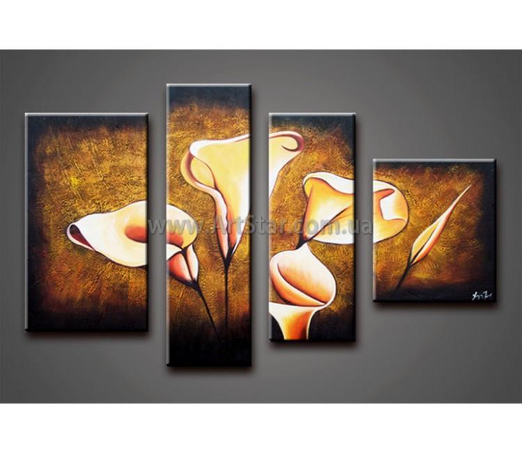 Модульные Картины Маслом, Art. HM778151