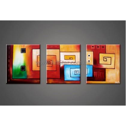 Модульные Картина, Абстракция, Art. HM888007