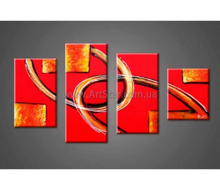 Модульные Картины Маслом, Art. HM888019