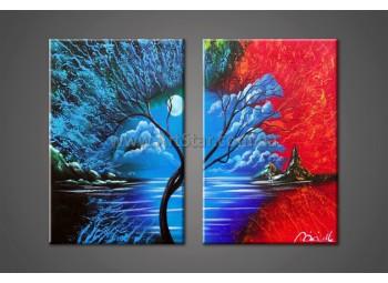 Модульные Картины Маслом, Art. HM888040