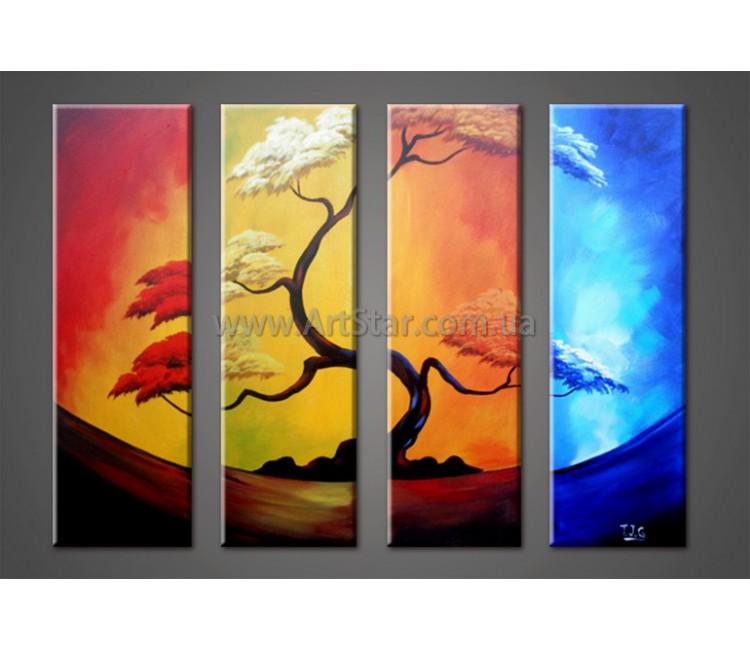 Модульные Картины Маслом, Art. HM888055