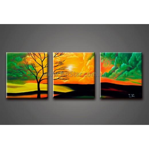 Модульные Картины Маслом, Art. HM888088