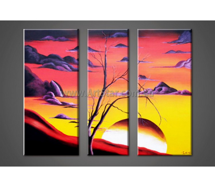 Модульные Картины Маслом, Art. HM888094
