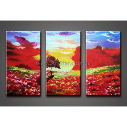 Модульные Картины Маслом, Art. HM888106
