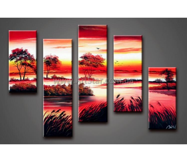 Модульные Картины Маслом, Art. HM888112