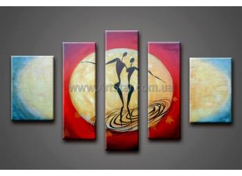 Модульные Картины Маслом, Art. HM888124