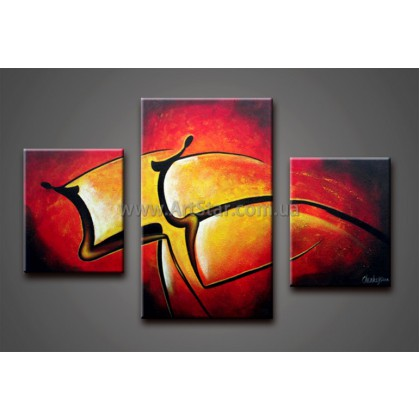 Модульные Картины Маслом, Art. HM888130
