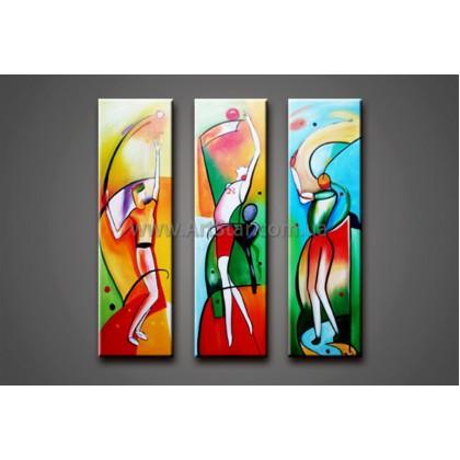 Модульные Картины Маслом, Art. HM888148