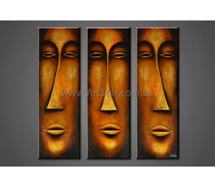 Модульные Картины Маслом, Art. HM888154