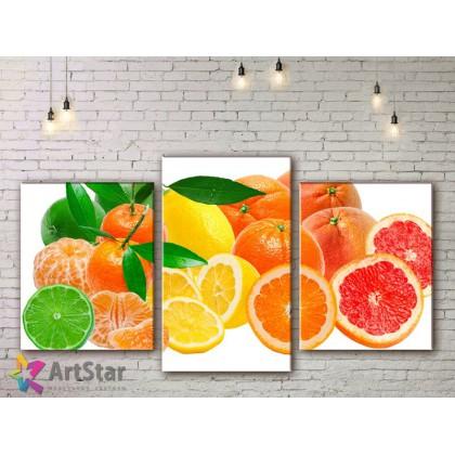 Модульные Картины, Фрукты, Art. KIT778058