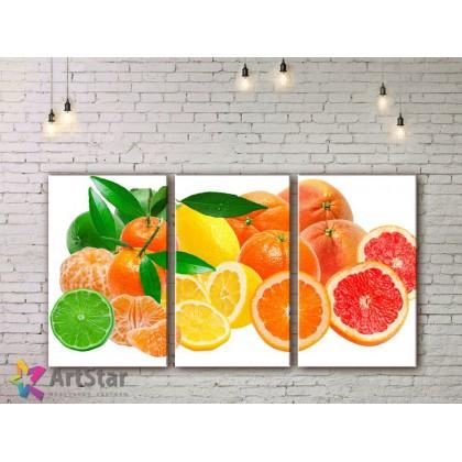 Модульные Картины, Фрукты, Art. KIT778004