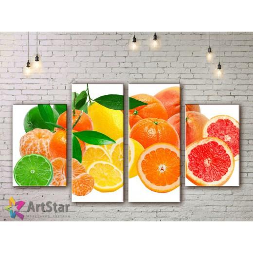 Модульные Картины, Фрукты, Art. KIT778076