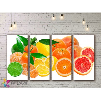Модульные Картины, Фрукты, Art. KIT778022