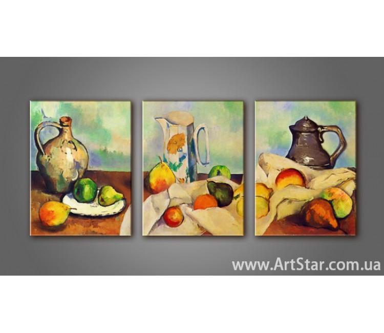 Модульная картина Чайный натюрморт