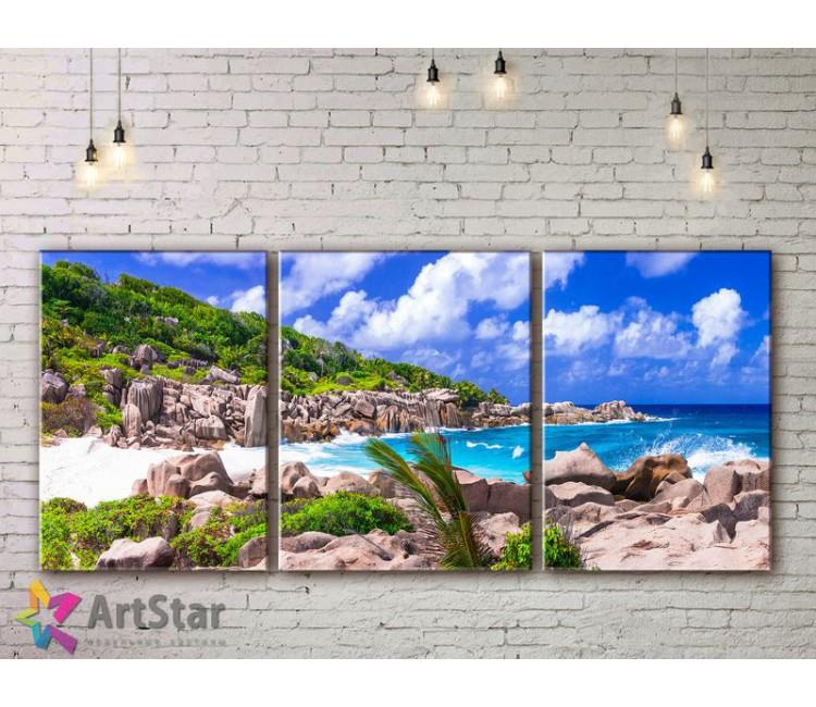 Модульные Картины, Морской пейзаж, Art. SEAA778002