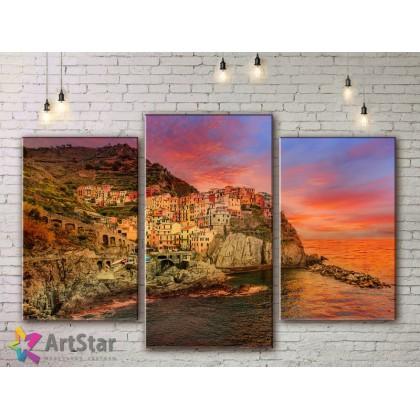 Модульные Картины, Морской пейзаж, Art. SEAA778004
