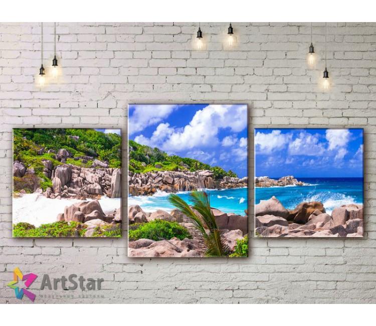 Модульные Картины, Морской пейзаж, Art. SEAA778006
