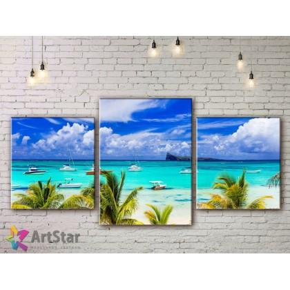 Модульные Картины, Морской пейзаж, Art. SEAA778008