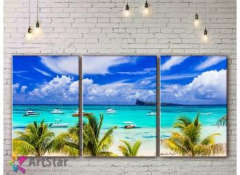 Модульные Картины, Морской пейзаж, Art. SEAA778012