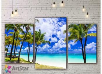 Модульные Картины, Морской пейзаж, Art. SEAA778014