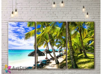 Модульные Картины, Морской пейзаж, Art. SEAA778016