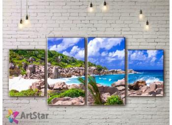 Модульные Картины, Морской пейзаж, Art. SEAA778024