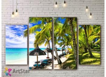 Модульные Картины, Морской пейзаж, Art. SEAA778028