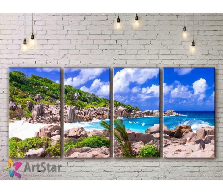 Модульные Картины, Морской пейзаж, Art. SEAA778034