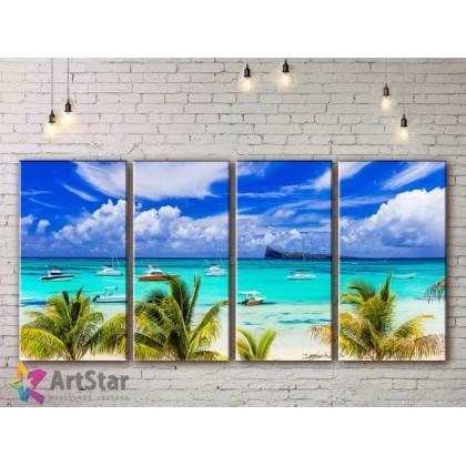 Модульные Картины, Морской пейзаж, Art. SEAA778036