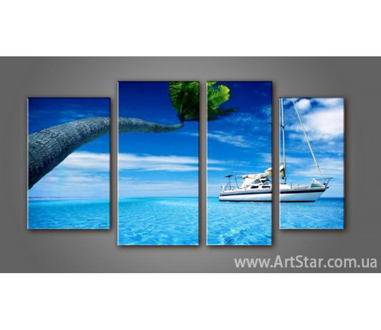 Модульная картина Морской пейзаж (4) 2