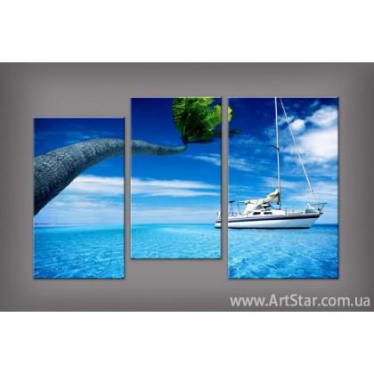 Модульная картина Морской пейзаж 2