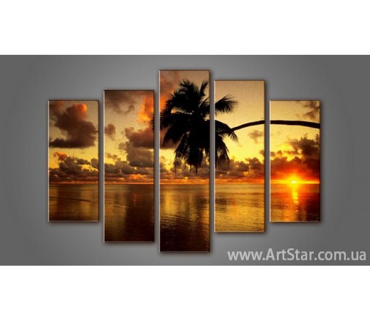 Модульная картина Морской пейзаж (5) 3