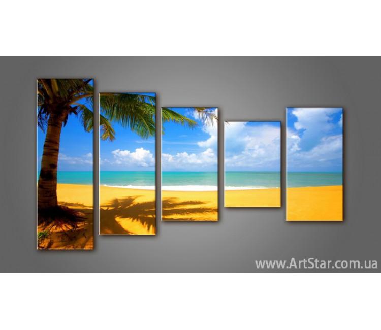Модульная картина Морской пейзаж (5) 4