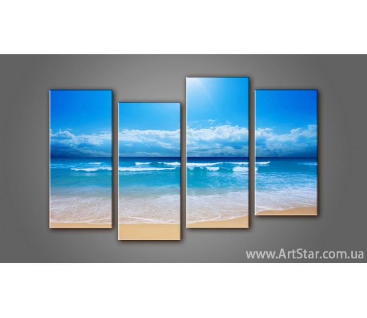 Модульная картина Морской пейзаж (4) 5
