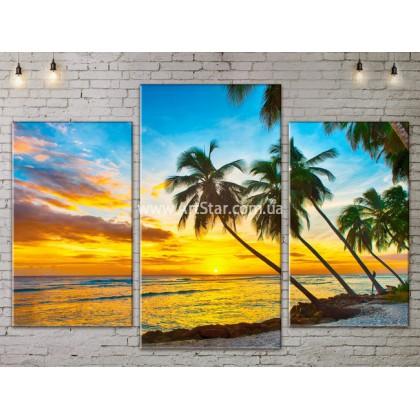 Модульные Картины, Морской пейзаж, Art. SEAA777017